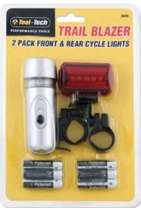 Tool Tech Trailblazer Cycle Light Set